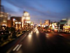 Las Vegas Tilt Shift
