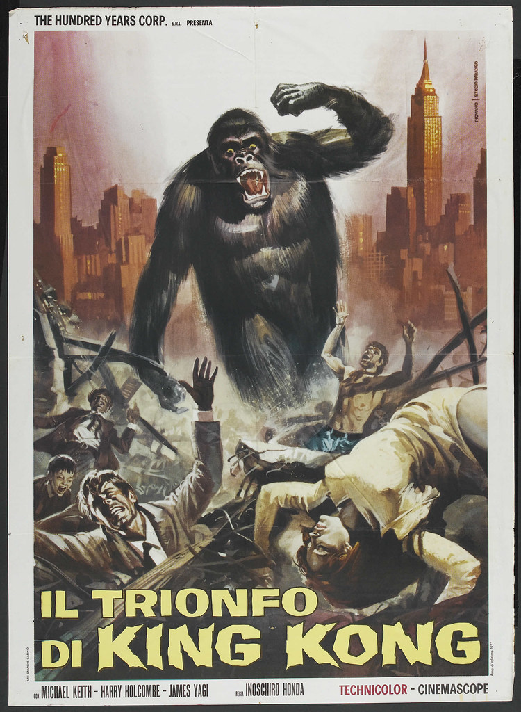 King Kong Escapes (Toho, 1967). Italian 2