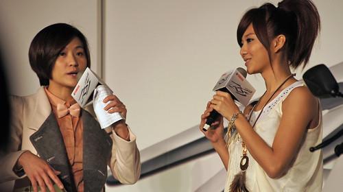 台灣山葉機車特地邀請宅男女神豆花妹暢談RS ZERO的貼心設計