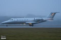 D-CVJN - 45-2091 - Vista Jet - Learjet 40 - Luton - 110107 - Steven Gray - IMG_7668