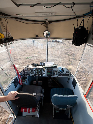 Blimp Cockpit Interior