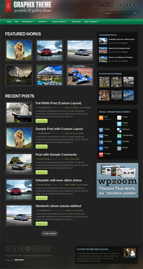 graphix-wordpress-theme