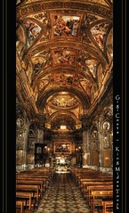 Chiesa di San Giorgio_Salerno (Explore) (King Midas Touch*) Tags: travel light italy church architecture geotagged photography reflex interestingness nikon italia cathedral photos explore affreschi architettura hdr thebest salerno barocco cattedrale prospettiva centrostorico cs4 navata photomatix escursioni tonemapped areyouready cs5 esplora nikond5000 kingmidastouch chiesadisangiorgiosalerno gigicosta