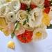 Ranunculus, roses, poppies