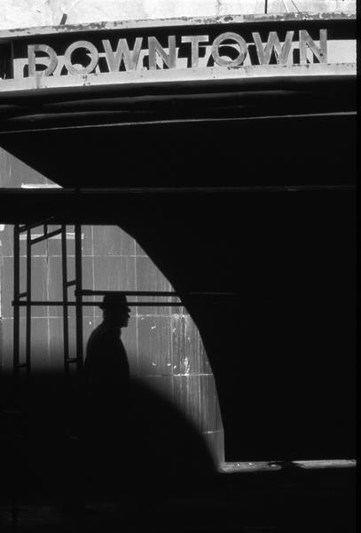 Richard Nagler, Downtown, Oakland, California, March 1981