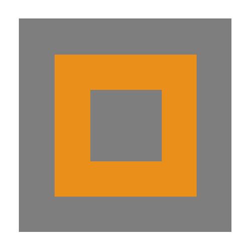 orange grey baby
