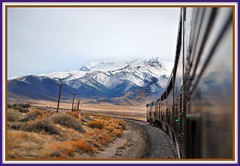 California Zephyr West of Winnemucca NV ( 6 Views ) (Loco Steve) Tags: railroad travel train december nevada trains amtrak jpeg  winnemucca 2010   californiazephyr