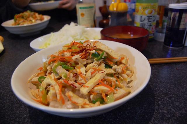 茹で鶏のナンプラー風丼  #jisui