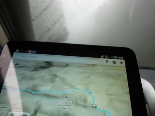 Galaxy Tab Navigation