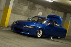 Toyota Trueno AE111 (philipmchugh) Tags: underground cleaning toyota carpark levin multistory trueno ae111