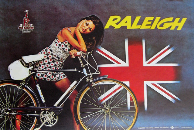 Vintage Bicycle Posters: Raleigh