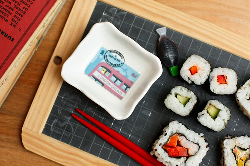 Stamps Dipping Bowl - London Calling