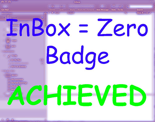 INBOX=zero badge