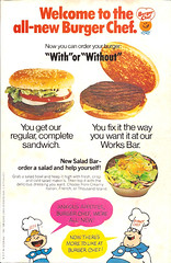 1973 Burger Chef Sign