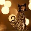 Glass menagerie (Michał Lis) Tags: macro glass closeup cat golden bokeh iso 5d figurine 50 100mm28usm tripoded