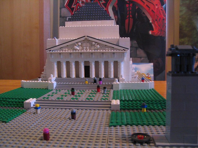 Melbourne Shrine of Remembrance at Brickvention 2009