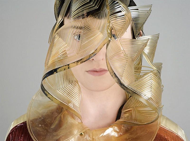 Jane Bowler avant-garde plastic design raincoats 1
