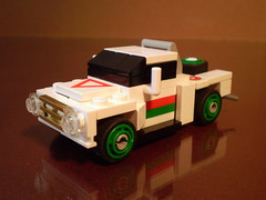Custom Dirt Track Racing Truck