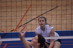Women's College Volleyball, Sherbrooke Vert Et Or VS Universit de Montral Carabins, Sony A55, Montreal, 16 January 2011 (457) (proacguy1) Tags: montreal womenscollegevolleyball sonya55 sherbrookevertetorvsuniversitdemontralcarabins 16january2011