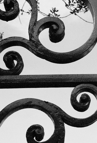 Iron Gate Swirl Patterns