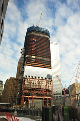 FREEDOM TOWER /  One World Trade Center Plaza   -   Lower Manhattan, NYC  -   01/17/11 by imhemp2002, on Flickr