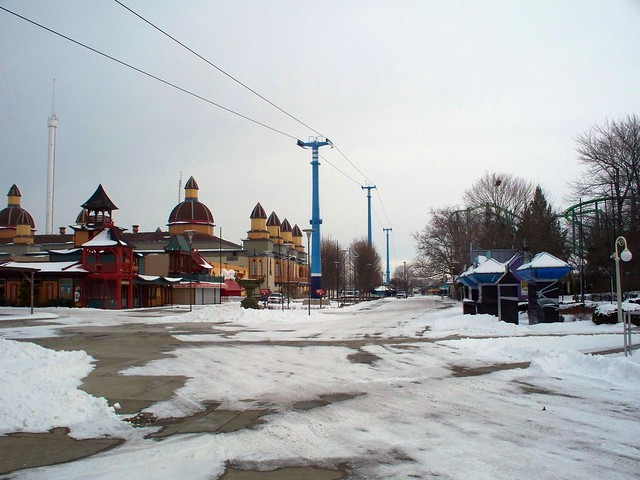 Cedar Point - Off-Season Main Midway