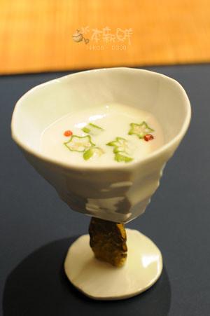 冷製豆乳スープ