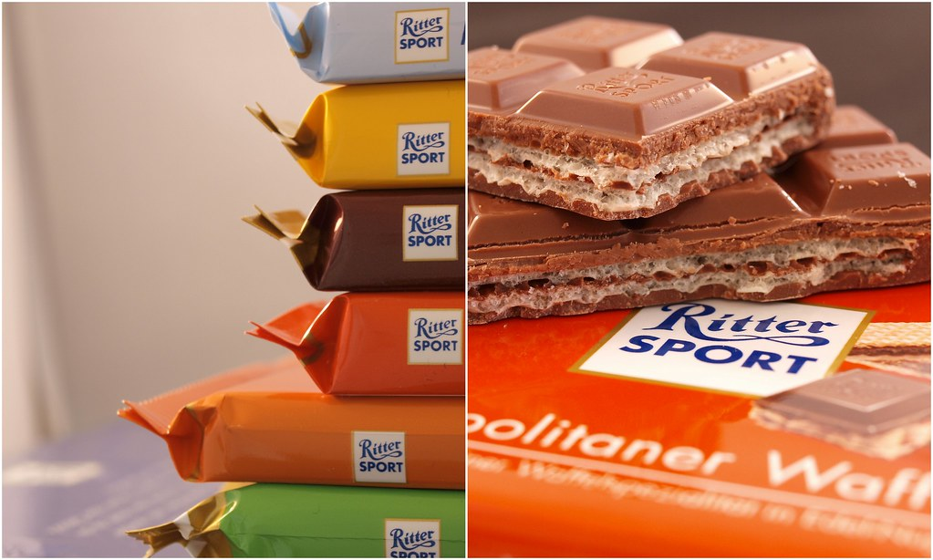 Ritter Sport Collage