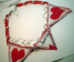 Valentine Bunting Necklace