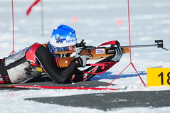 N.D. National Guard Biathlon Team Defends Regional Title [Image 4 of 9 (DVIDSHUB) Tags: winter usa snow ski minnesota soldier army littlefalls military crosscountry nationalguard northdakota athlete mn fargo shootingrange biathlon riflerange marksmanship northdakotanationalguard
