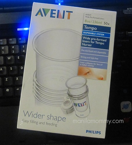 bpa-free liners for Avent Tempo