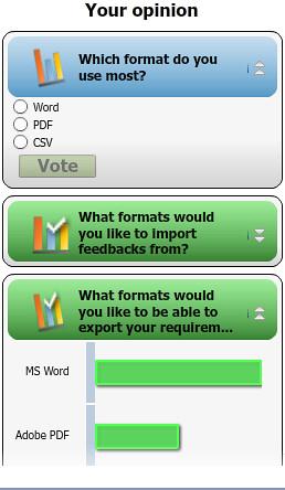 CRM system poll