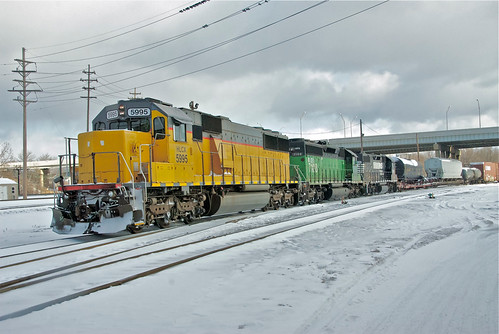 (NS) 364 LEAVING ROCKPORT YARD TODAY