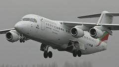 LZ-HBE (Tyno from Holland) Tags: amsterdam airport air bulgaria british bae schiphol hemus aerospace 146 eham polderbaan 146300 lzhbe canonef500f45lusm