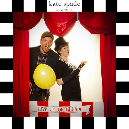 Jacob and Brittany at the Kate Spade Girls with Glasses Party