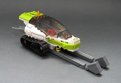 X-Treme Daredevils Arctic Racer (NewRight) Tags: world lego scifi theme racers snowmobile racer