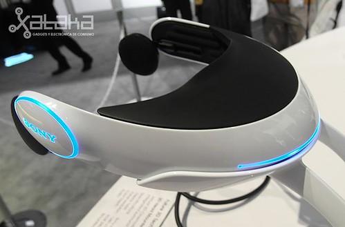 Sony 3D Head Mounted Display