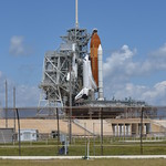 Endeavour on Pad 39A