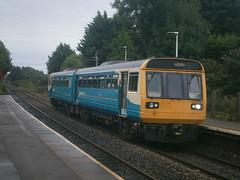 142082 @ Dinas Powys (ianjpoole) Tags: arriva trains wales 142082 working 2y23 aberdare barry island