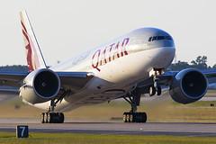 A7-BBE-Qatar-777-200LR-IAH-2015-05-31 (GFB Aviation Photography) Tags: a7bbe qatar 777 777200lr iah kiah