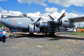 Shackleton WR982 of the Peter Vallance collection in '97.
