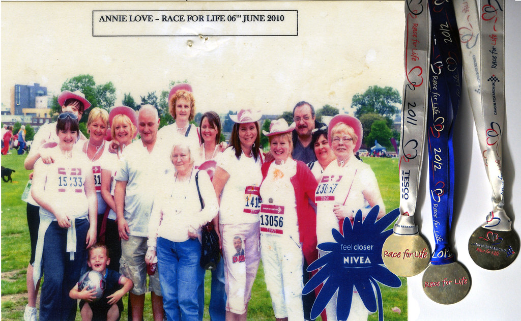 Annie Love Race For Life 2010