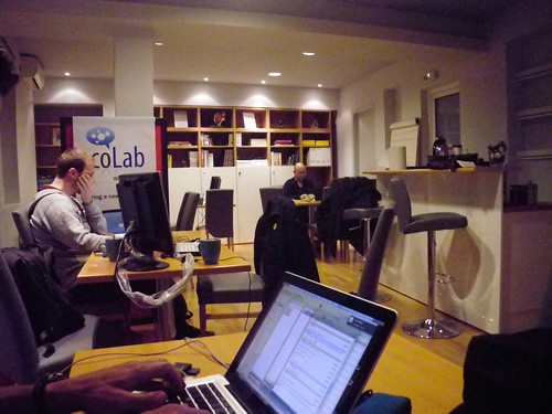 CoLab workspace Athens