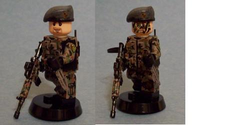 Custom minifig USAF - SERE SSgt Geils (by pecovam)