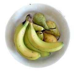fruta de verano (R.Duran) Tags: stilllife fruit nikon banana platano fruta pear coolpix pera s6000 ltytr1