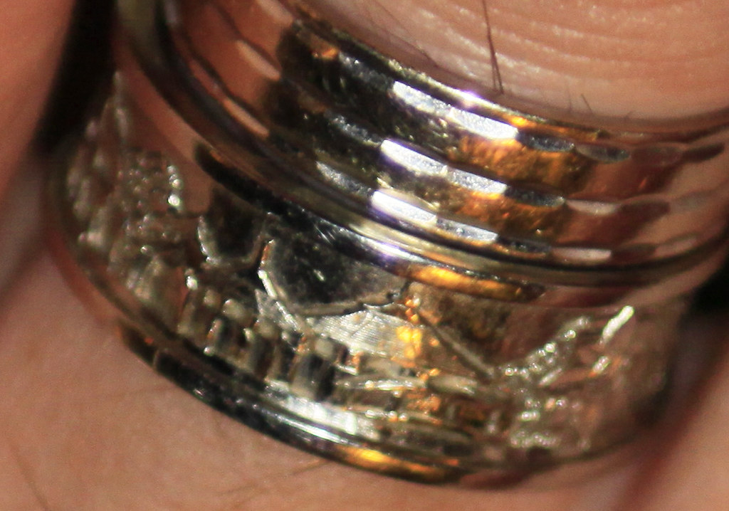 Phuket Thailand, Golden Tulip Mangosteen Resort and Ayurveda Spa, special handmade silver ring made by happy return guest