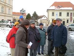 Vycházka z centra města na Petrov, 26. 1. 2011