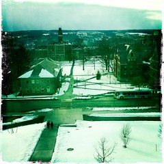 Winter View (solarnu) Tags: usa ny cornell ithaca psb cornelluniversity johnslens hipstamatic kodotxgrizzledfilm