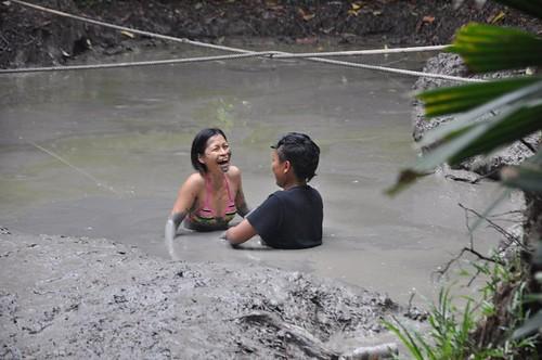 mud volcano - pulau tiga sabah