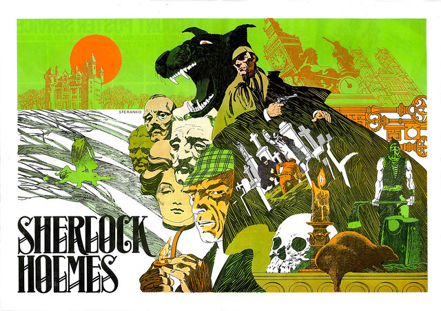 Sherlock Holmes by Steranko 1975 from Mediascene